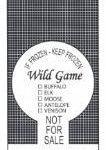 Wild Game Design